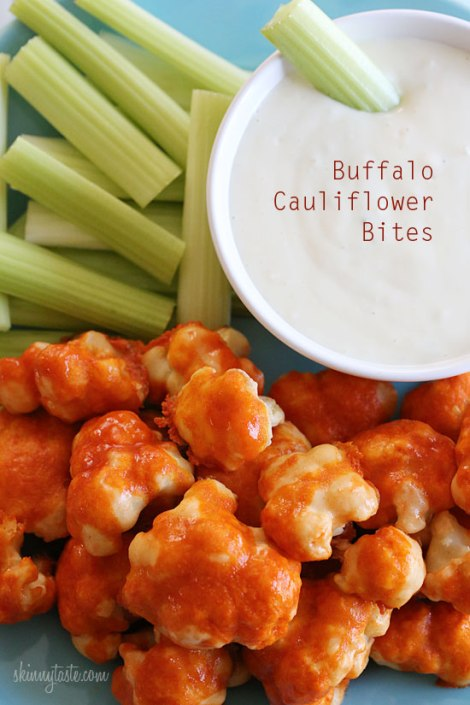 Buffalo-Cauliflower-Bites